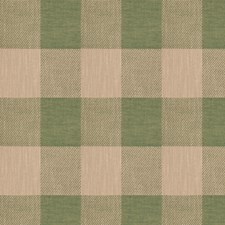 Malachite Check Drapery and Upholstery Fabric by Stroheim