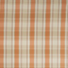 Pumpkin Check Drapery and Upholstery Fabric by Stroheim