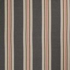 Jute Print Pattern Drapery and Upholstery Fabric by Stroheim