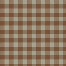 Cinnamon Check Drapery and Upholstery Fabric by Stroheim