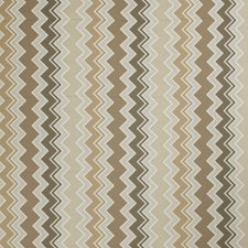 Rattan Geometric Drapery and Upholstery Fabric by Stroheim