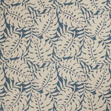 Regatta Leaves Drapery and Upholstery Fabric by Stroheim