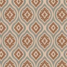 Aqua Diamond Drapery and Upholstery Fabric by Trend