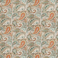 Indian Sky Paisley Drapery and Upholstery Fabric by Fabricut