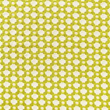 Chartreuse/Ivory Drapery and Upholstery Fabric by F Schumacher