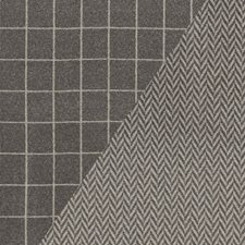 Charcoal/Nickel Drapery and Upholstery Fabric by Schumacher
