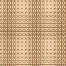 Gold Geometric Drapery and Upholstery Fabric by Trend