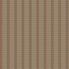 Paprika Stripes Drapery and Upholstery Fabric by Fabricut