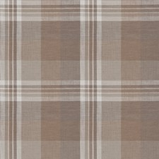 Latte Check Drapery and Upholstery Fabric by Stroheim