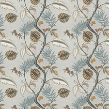 Honeycomb Embroidery Drapery and Upholstery Fabric by Stroheim