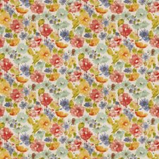 Springtime Floral Drapery and Upholstery Fabric by Trend