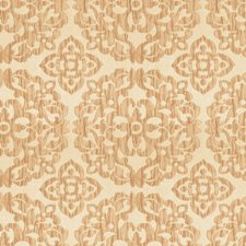 Sand Medallion Drapery and Upholstery Fabric by Trend