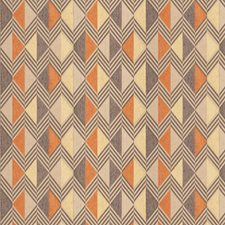 Harvest Geometric Drapery and Upholstery Fabric by Trend