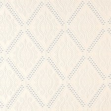 Ivory/Bleu Drapery and Upholstery Fabric by Schumacher