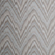 Aqua Haze Flamestitch Drapery and Upholstery Fabric by Trend