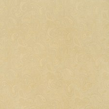Buff Paisley Drapery and Upholstery Fabric by Trend