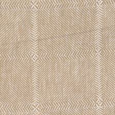 Linen Check Drapery and Upholstery Fabric by Trend
