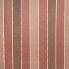 Terra Cotta Stripes Drapery and Upholstery Fabric by Trend