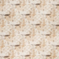 Pearl Floral Drapery and Upholstery Fabric by Trend