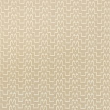Ivory/Natural Drapery and Upholstery Fabric by Schumacher