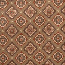 Garden Spice Medallion Drapery and Upholstery Fabric by Trend