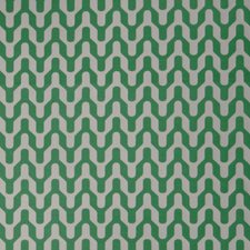 Jade Geometric Drapery and Upholstery Fabric by Trend