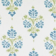 Aqua/Green Damask Drapery and Upholstery Fabric by Duralee