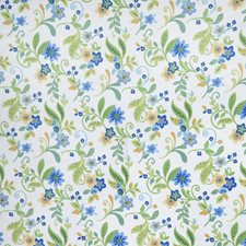 Summer Floral Drapery and Upholstery Fabric by Trend