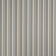 Denim Stripes Drapery and Upholstery Fabric by Trend