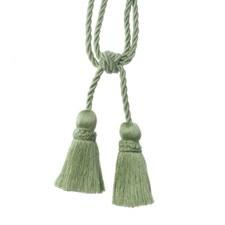 Tie Back Pistachio Trim by Duralee