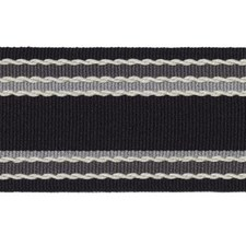 Stripe Black Trim by Duralee