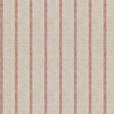 Coral Stripes Drapery and Upholstery Fabric by Trend