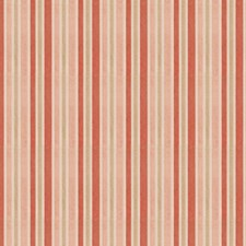 Coral Reef Stripes Drapery and Upholstery Fabric by Trend