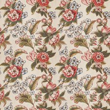 Coral Reef Floral Drapery and Upholstery Fabric by Trend
