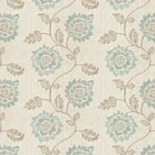 La Mer Embroidery Drapery and Upholstery Fabric by Fabricut