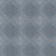 Delft Damask Drapery and Upholstery Fabric by Trend