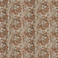 Autumn Floral Drapery and Upholstery Fabric by Trend