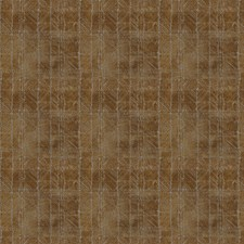 Bronze Geometric Drapery and Upholstery Fabric by Stroheim