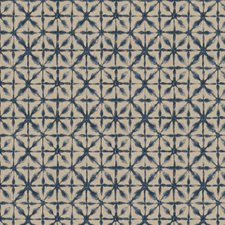 Indigo Global Drapery and Upholstery Fabric by Trend