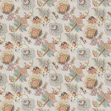 Summer Floral Drapery and Upholstery Fabric by Fabricut