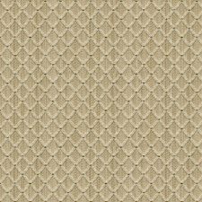Beige Diamond Drapery and Upholstery Fabric by Brunschwig & Fils
