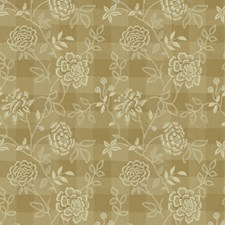 Sand Botanical Drapery and Upholstery Fabric by Brunschwig & Fils