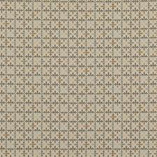 Aqua/Grey Geometric Drapery and Upholstery Fabric by Brunschwig & Fils