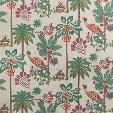 Linen Tropical Drapery and Upholstery Fabric by Brunschwig & Fils