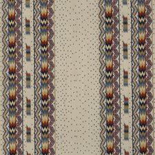 Red/Blue Drapery and Upholstery Fabric by Brunschwig & Fils