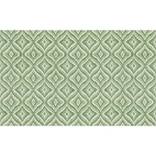 Apple Green Geometric Drapery and Upholstery Fabric by Brunschwig & Fils