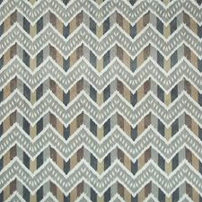 Smoke/Sand Flamestitch Drapery and Upholstery Fabric by Brunschwig & Fils