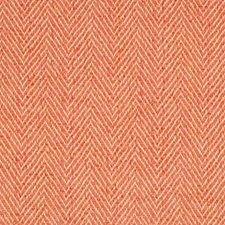 Blush Herringbone Drapery and Upholstery Fabric by Brunschwig & Fils