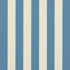 Blue Stripes Drapery and Upholstery Fabric by Brunschwig & Fils