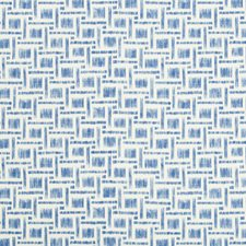 Delft Geometric Drapery and Upholstery Fabric by Brunschwig & Fils
